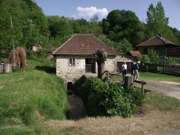 Ускоро силазимо до воденице у Букоровцу и ту многи купују кукурузно брашно код млинара