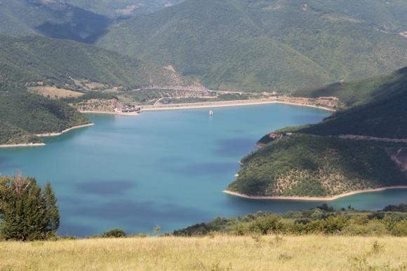 Поглед на језеро Газиводе са Резалске главе (Фото: Жарко Продановић)