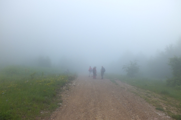На гребену Мокре Горе
