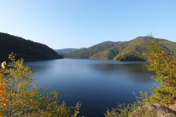 Језеро Газиводе из залива Орашачке реке