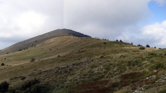 Успон ка врху Кукавице