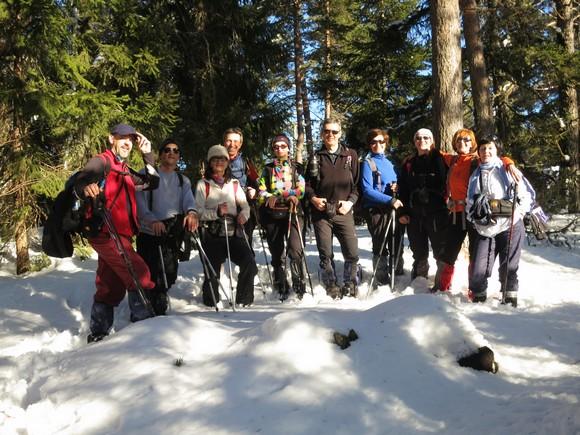 Ево нас на највишем врху Дивана - Клику (1319 мнв)